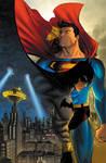 Superman Batman Cover Colors