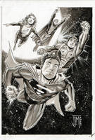 Superboy and the Legion by manapul