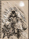 Drink and Draw Batman