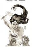 Wonder Woman 32 cover