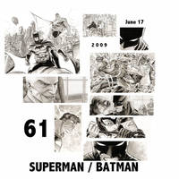 SUPERMAN BATMAN 61 preview by manapul