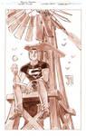 secret files: Superboy Inks