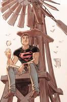 secret files: Superboy Colors by manapul