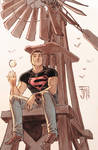 secret files: Superboy Colors