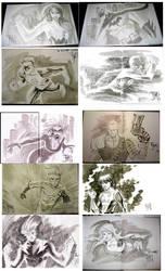 Con Sketches 2009 by manapul