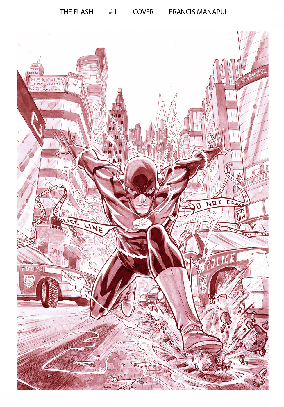Flash 1 Cover by manapul