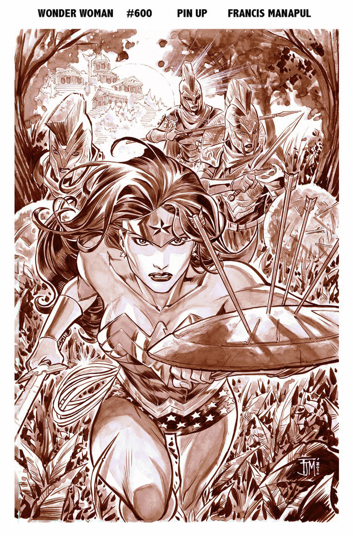 Wonder Woman 600 by manapul