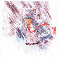 The Spirit in the Rain by manapul