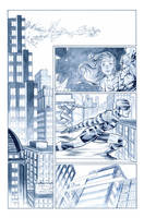 The Flash 6 page 7 by manapul
