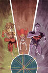 Superboy 5 cover process 4