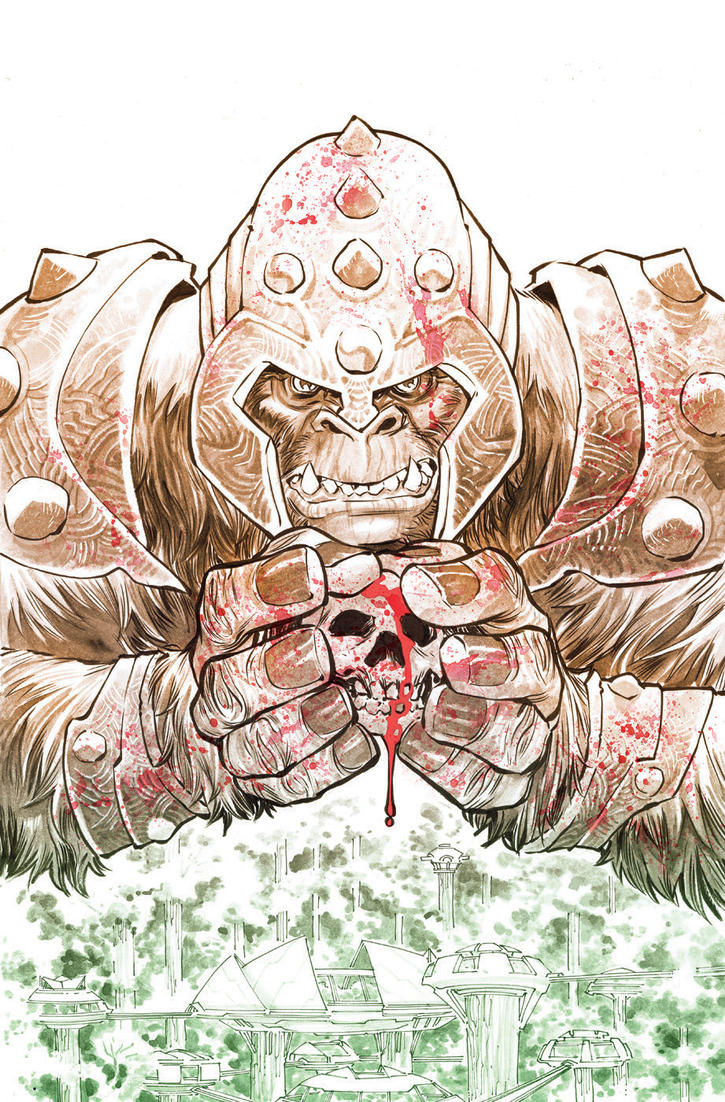 Grodd of War Cover by Francis Manapul