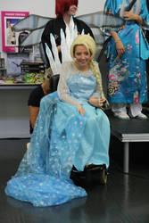 Elsa - Carlisle Megacon 2014 6 by KateRSykes