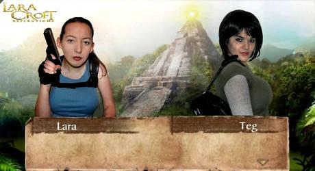 Lara Croft and Teg Alexander by KateRSykes