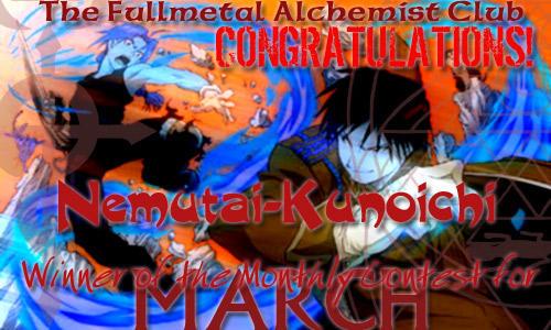 March Award --Nemutai-Kunoichi