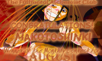 August Award -- makotoshinki by fullmetalalchemist
