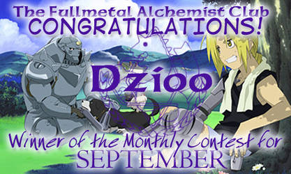 September Award -- Dzioo by fullmetalalchemist