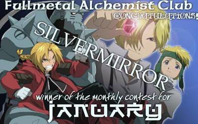 January Award -- silvermirror by fullmetalalchemist