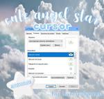 cute angel star cursor by: iamcindyuwu