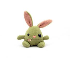 Gar: Ogre bunny by csgirl