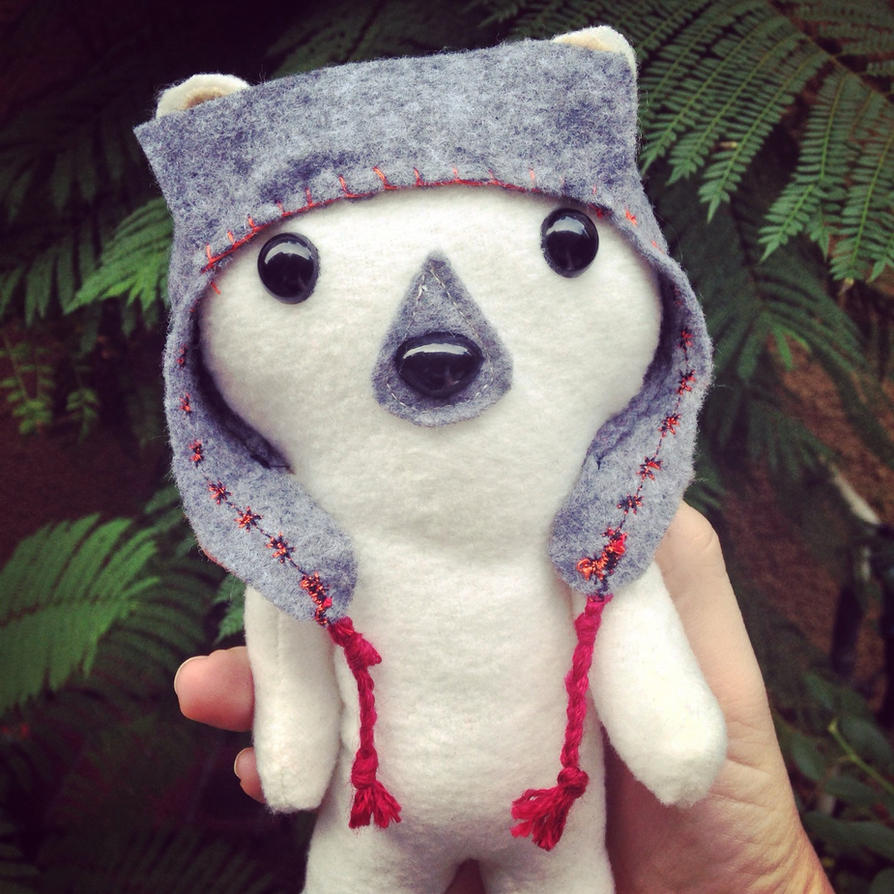 Lumberjack polar bear by csgirl