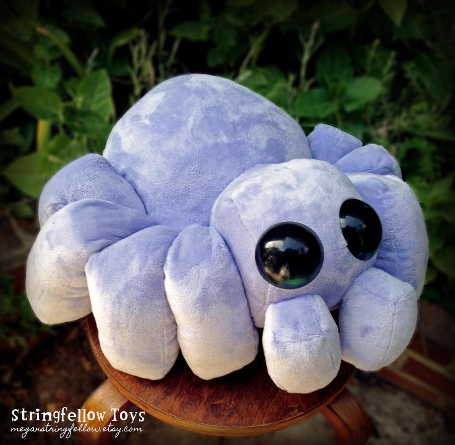 Bartholomew - plush spider by csgirl