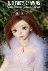 Bjd Fairy Crowns by CakeBloopers