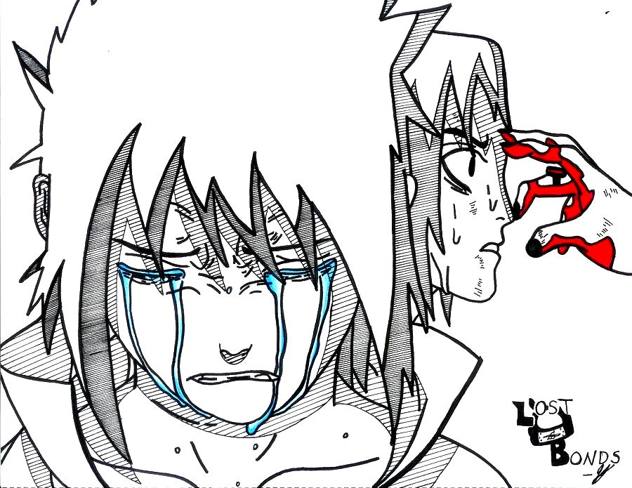 Itachis-Death Itachi Death Drawing Itachi's death by
