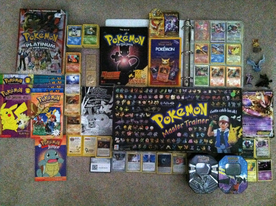 Some of my pokemon collection by kisameshark14 on deviantart