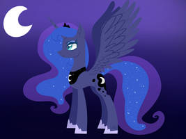 Princess Luna ( lineless )