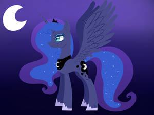 Princess Luna ( lineless )
