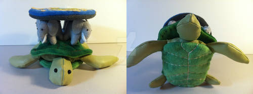 A'Tuin the world turtle 1 by Calvadolore