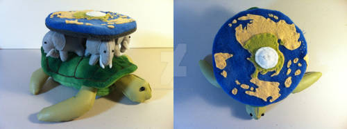 A'Tuin the world turtle 2 by Calvadolore