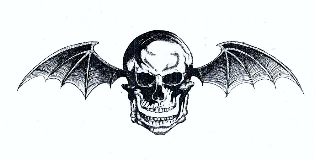 how to draw avenged sevenfold symbol