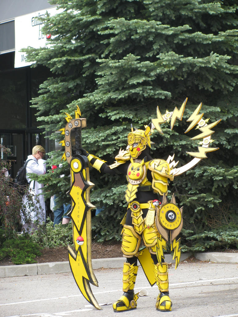 Anime North 2012 - Robot Pikachu by Lizzybary on DeviantArt