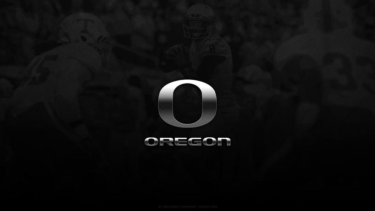 Oregon Ducks Wallpaper - Marcus Mariota