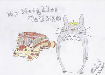 My Neighbor Totoro Fan Art by Bolynn