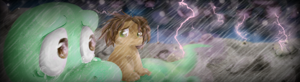 Storms of Fear and Sorrow by AmyAmyCyberfolf