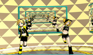 MMD NEWCOMER DL RIN AND LEN by khftw