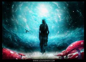 Facing eternity by LouisDyer