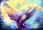 Hummingbird automatic painting