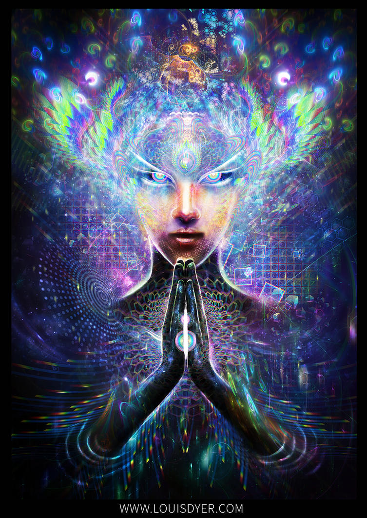 Multidimensional Prayer by LouisDyer