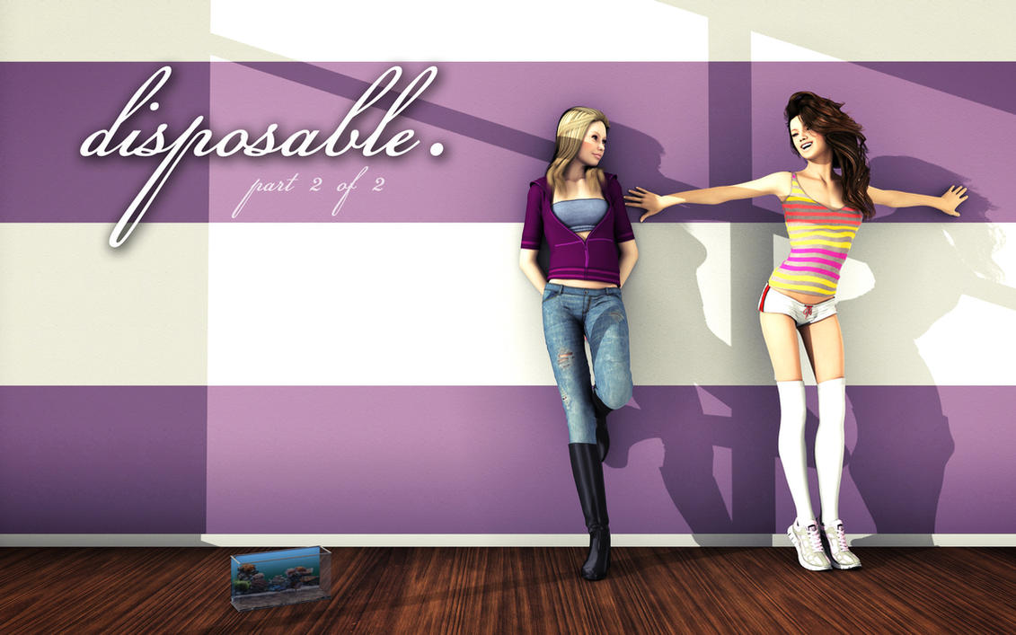 ''Disposable'' Part II - Now Available! by SorenZer0
