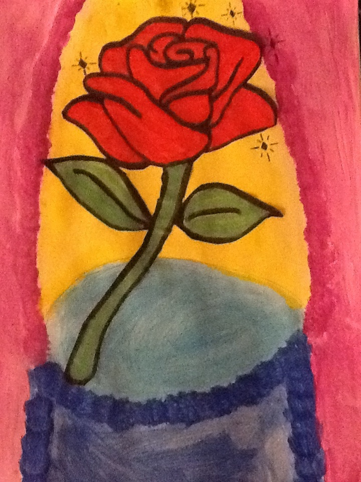 Beauty And The Beast Rose By Crazystar33