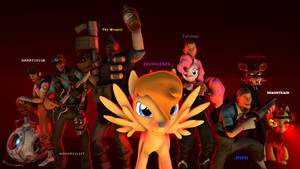 The League Of Extraordinary Animators by thefakedreel