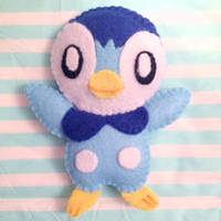Piplup - Mini Pokemon Plush by AmyRosefan4eva