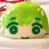 Makoto Tachibana - Mini Omanjuu Plush (Free!)