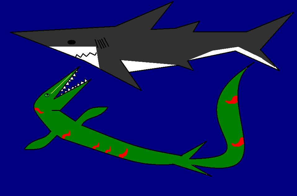megalodon vs liopleurodon