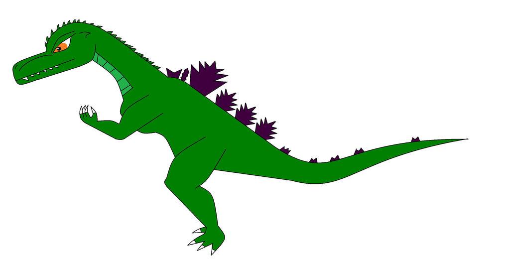 Godzilla V by Dinossword