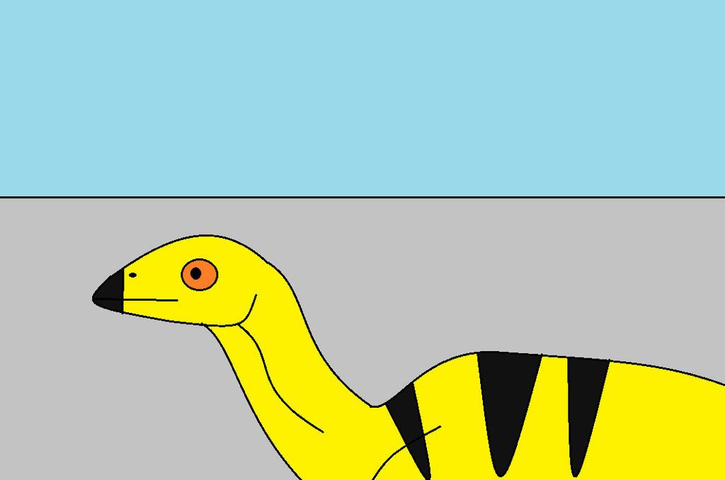 Baby Edmontosaurus by Dinossword