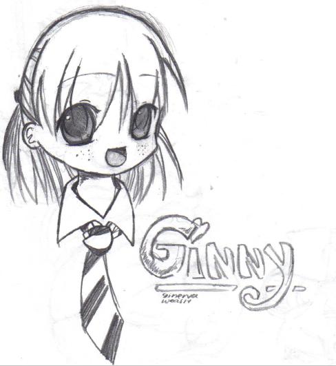 Ginny Weasley by chibi-lemon on DeviantArt